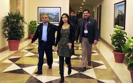 Bà Devyani Khobragade đã về đến New Delhi - Ấn Độ