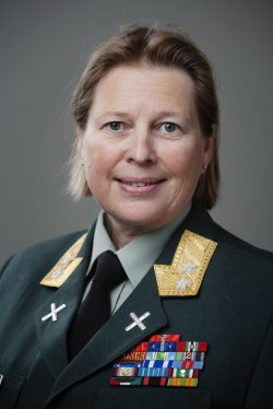 Major General Kristin Lund will become the first woman to ever head a UN Peacekeeping force. PHOTO: Forsvaret