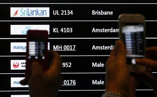 Cổ phiếu Malaysia Airline đã rớt 34% từ đầu năm đến nay sau hai vụ tai nạn máy bay. Ảnh: Reuters.