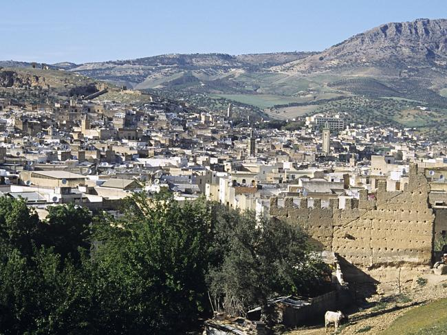 The ancient Moroccan city of Fez, where Ms El Houari would meet her end.