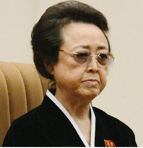 Bà Kim Kyong-hui có thể đang nguy kịch vì bệnh tim. Ảnh: Kyodo News
