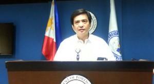 Người phát ngôn Bộ Ngoại giao Philippines Charles Jose. Ảnh: Inquirer