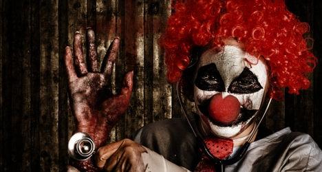 Scary clown craze hits Spanish city