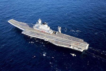 Tàu sân bay INS Vikramaditya. Ảnh: Indian Navy