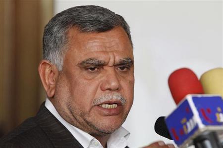Bộ trưởng Giao thông vận tải Iraq Hadi al-Ameri. Ảnh: Naharnet