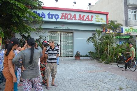 Nhà trọ Hoa Mai, hiện trường xảy ra vụ án mạng làm chị Trang tử vong