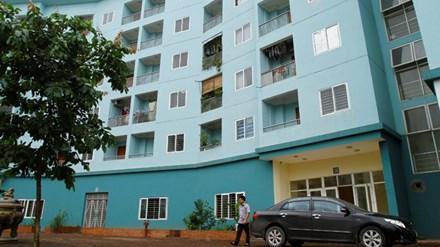 Nhà ở xã hội cho thuê tại CT19A khu đô thị Việt Hưng (Long Biên, Hà Nội) xuống cấp nhưng thiếu kinh phí bảo trì. Ảnh: Ngọc Châu