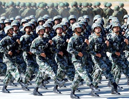 Quân Giải phóng Nhân dân Trung Quốc (PLA). Ảnh: Tân Hoa Xã