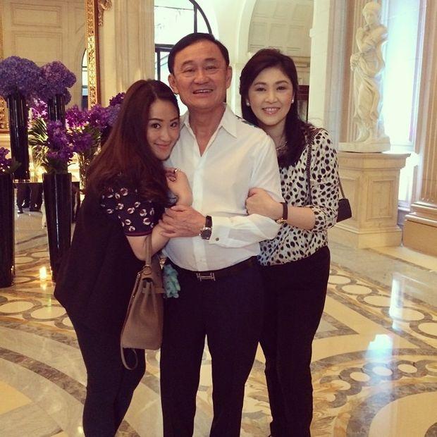 Ông Thaksin Shinawatra và con gái