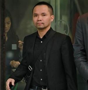 Tan Hoang bên ngoài tòa án TP Melbourne hồi tháng 4. Ảnh: The Sydney Morning Herald