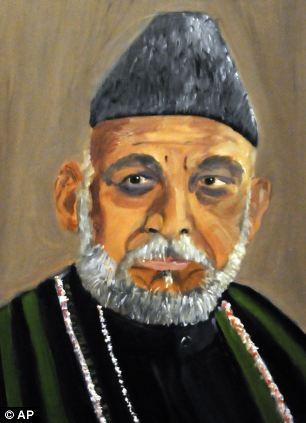 Tổng thốngAfghanistanHamid Karzai.