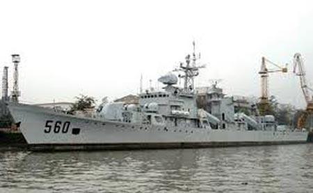 Tàu khu trục Đông Quan thuộc loại 053H1G của Hải quân Trung Quốc. Ảnh: Want China Times