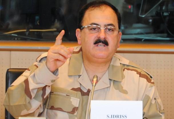 Thủ lĩnh FSA Selim Idriss bị sa thải vì không làm tròn nhiệm vụ. Ảnh: Turk News Line