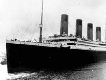 Tàu Titanic. Ảnh: Press Trust of India
