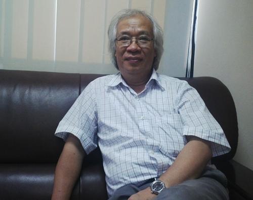 Tiến sĩ Dương Đình Giám cho rằng Việt Nam không thiếu những nhà sáng chế để phát triển công nghiệp ôtô. Ảnh: Hoàng Lan.