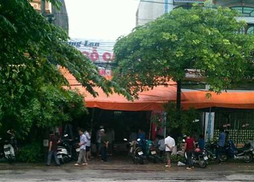 Ngôi nhà của gia đình ông Nguyễn Văn Hương ở phường Hoàng Văn Thụ (TP Bắc Giang) dùng để kinh doanh đồ nội thất.