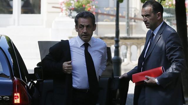 Ông Sarkozy bị bắt tại Nanterre, gần thủ đô Paris. Ảnh: Reuters