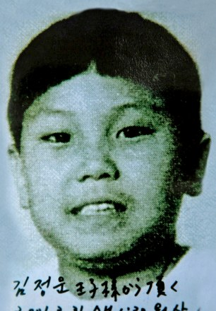 The chosen one: Kim Jong-Un at the age of ten