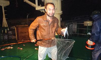 Bắt cá chuồn ở Trường Sa