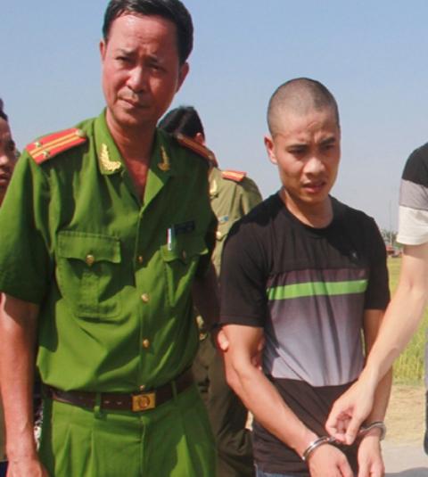 Với hành vi chém chết 2 mạng người, cướp tài sản, Nguyễn Văn Hải phải đối mặt với khung hình phạt cao nhất là tử hình