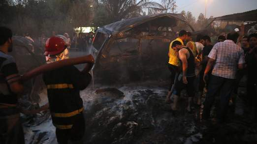 Car bomb attack in Baghdad