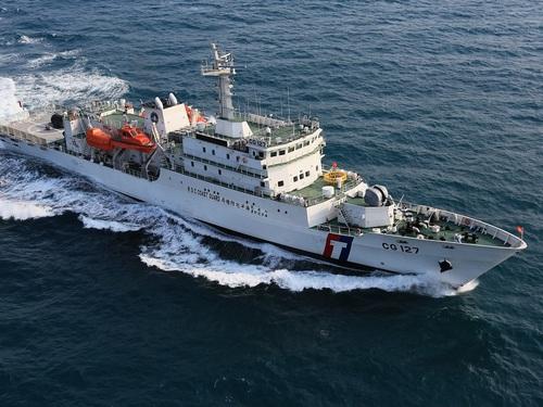 Đài Loan đang tích cực trấn áp tàu cá Trung Quốc săn bắt trộm trong quần đảo Kim Môn của mình. Ảnh: CNA