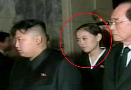 Kim Yeo-jong (khoanh tròn đỏ) mới được cất nhắc lên vị trí mới. Ảnh: Kyodo News