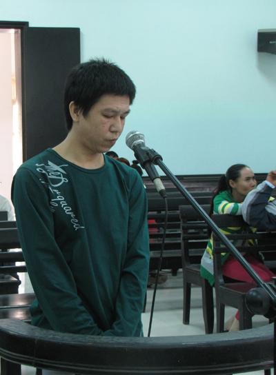 Bị cáo Lê Minh Huân.