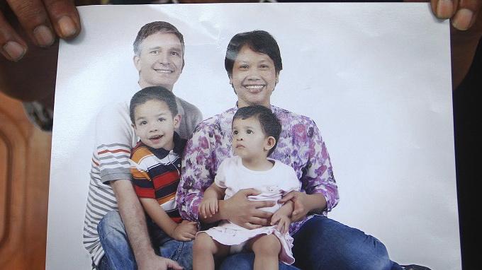 Cả một gia đình 4 người Indonesia thiệt mạng. Ảnh: The Star