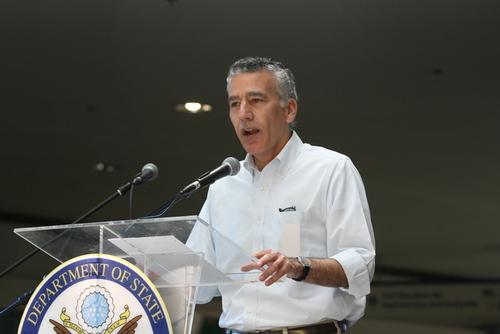 Đại sứ Mỹ tại Philippines Philip Goldberg. Ảnh:manila.usembassy.gov