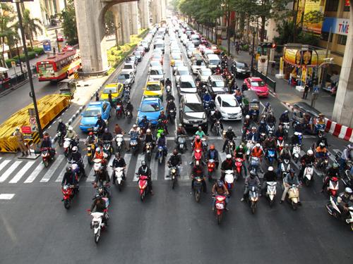 Đường phố Bangkok. Ảnh: myfashionepiphany.