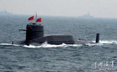 Tàu ngầm Trung Quốc. Ảnh: Navy.81.cn
