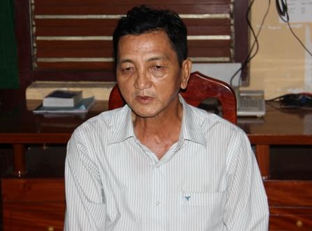 Sau một thời gian lẩn trốn Thái Xuân Phương đã bị tóm (Ảnh: CTV)