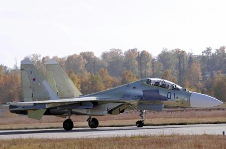 A Russian Air Force Su-30SM. (Internet photo)