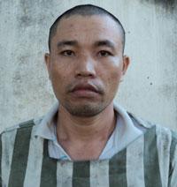 Trương Thành Đông tại cơ quan công an