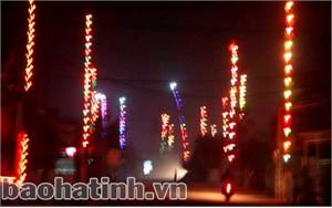Nêu Tết ở thành phố Hà Tĩnh