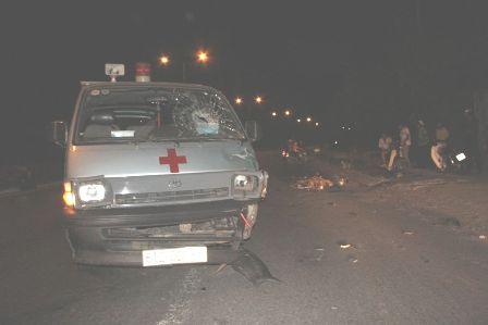 Chiếc xe gây tai nạn