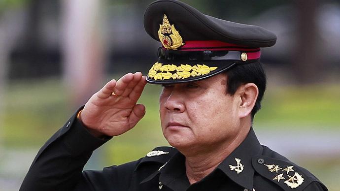 Thailand's Prime Minister Prayuth Chan-ocha (Reuters/Chaiwat Subprasom)
