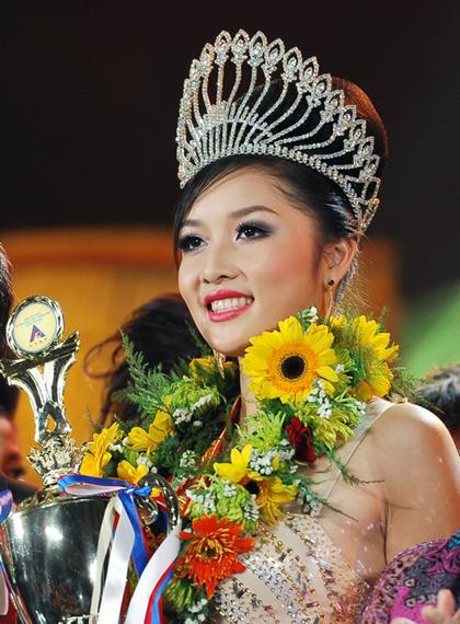 Triệu Thị Hà vẫn tiếp tục gắn liền với danh hiệu Hoa hậu Các Dân tộc Việt Nam.