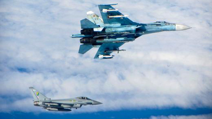 Royal Air Force Typhoons (Photo from www.raf.mod.uk)