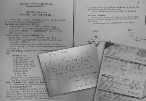 Đơn tố cáo của bà Nương gửi Cơ quan CSĐT Công an TP Cần ThơẢnh: ĐỨC ANH