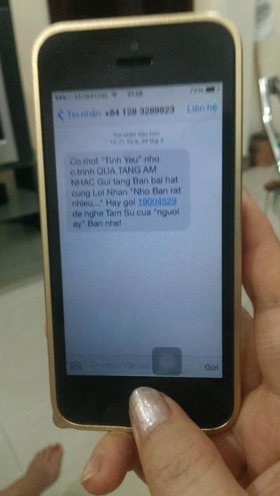 Tin nhắn lừa đảo như thế này hằng ngày được gửi đến điện thoại của rất nhiều người