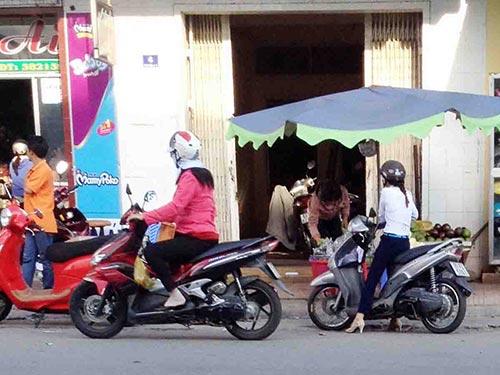 Căn nhà của bà Nguyễn Thị Ngọc bị TAND TP Sóc Trăng cấm buôn bán