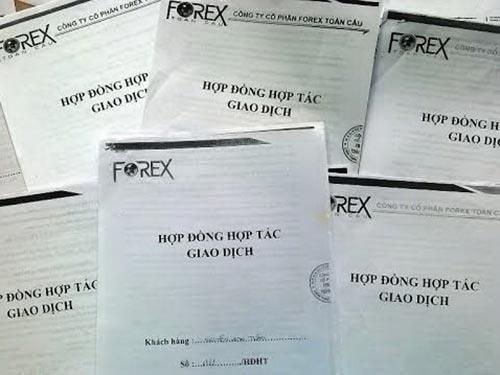 Rất nhiều người đã bị lừa khi ký hợp đồng đầu tư vào Công ty CP Forex Toàn Cầu