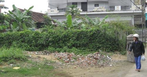 Căn nhà ông Lê Hữu Trí xây trái phép đã hơn 1 năm nhưng chính quyền vẫn chưa xử lý