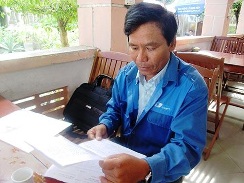 Ông Trần Khắc Mẫn, người tố cáo đúng nhưng suýt bị sa thải