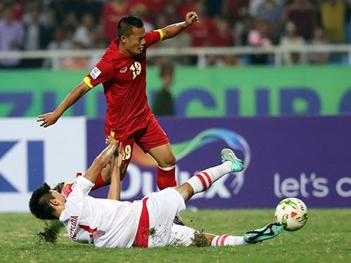 Thành Lương (19) tiến bộ hơn sau 3 tháng thi đấu, tập luyện dưới thời HLV Miura Ảnh: QUANG LIÊM