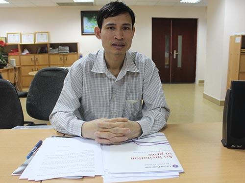 Ông Nguyễn Ngọc Diễn bức xúc về việc bị khách đánh gây thương tích