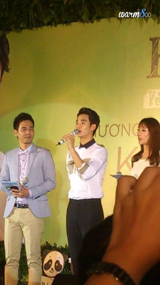 Phan Anh lên tiếng về lùm xùm tại sự kiện Kim Soo Hyun
