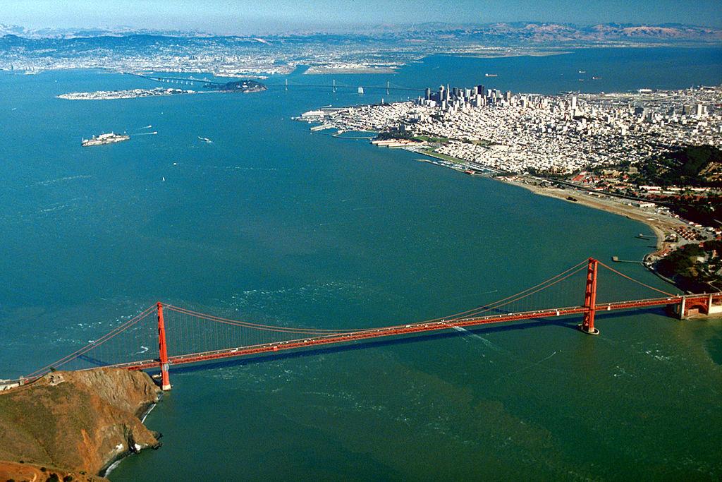 Các nhà nghiên cứu NOAA cho biết hơn 300 con tàu đã bị đắm ở vịnh San Francisco, nơi nhiều sương mù, gió mạnh và nhiều đá ngầm. Ảnh: Wikipedia